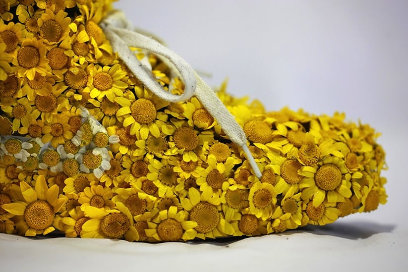 """Just Grow It Les Sneakers Vegetales by French Artist Monsieur Plant 2014 05 - """"Just Grow It ! – Les Sneakers Végétales"""" by French Artist Monsieur Plant"""