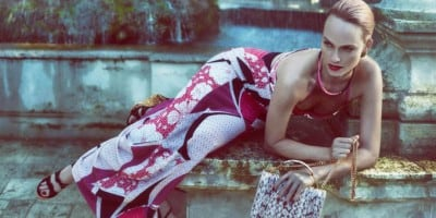 Advertising campaigns Emilio Pucci and MSGM Spring-Summer 2013