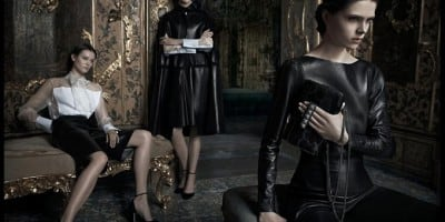 The Advertising Campaign Valentino Fall / Winter 2012