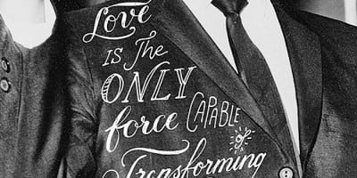 Hand Lettering Typography of Life's Quotes & Sayings by Ian Barnard
