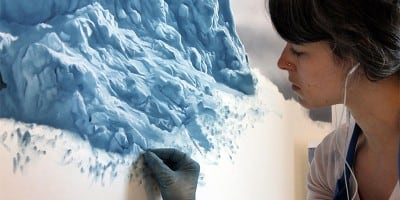 Chasing the Light: Iceberg Art by Zaria Forman
