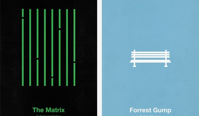 Minimalist Movie Posters by Eder Rengifo