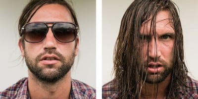 Rock Musicians before and after their Performances