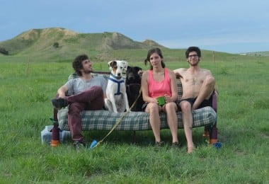Couch Surfing in the USA by Three Friends, Two Dogs & One Couch