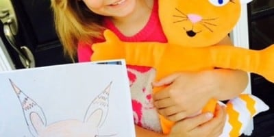 When Kids' Drawings Become Toys