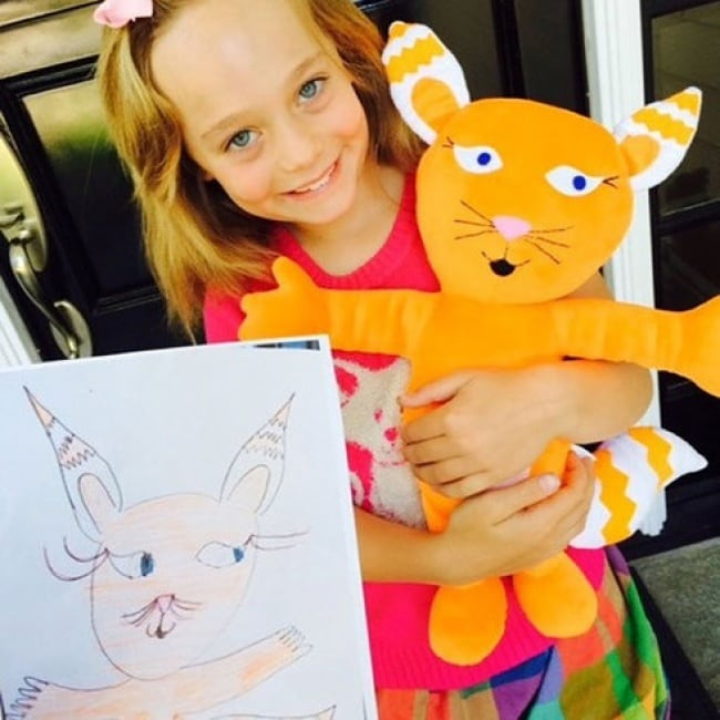 When Kids' Drawings Become Toys -toys, drawing, children, animal