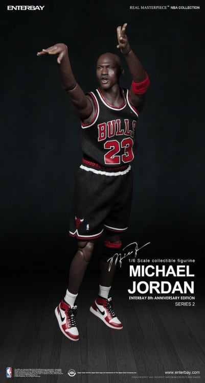 1/6 Scale Collectible Michael Jordan Figure by Enterbay -figures, basketball