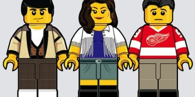 """""""80's Lego"""" – Iconic Movies Remembered In Lego Minifigures by Dan Shearn"""