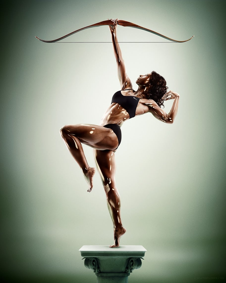 Glorious Greek God-Like Photography by Tim Tadder and Cristian Girotto -sport, sculpture, photography