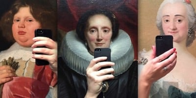 """The Museum of Selfies"" by Denmark-based Olivia Muus"