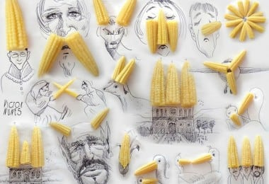 Creative Short Scenes From Everyday Objects and Drawings 7
