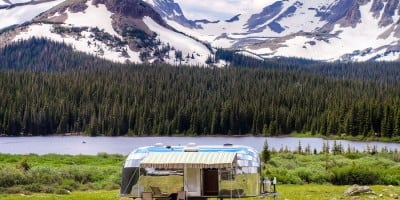 Restored 1954 Flying Cloud Airstream in Mint Condition Travels Off-Road
