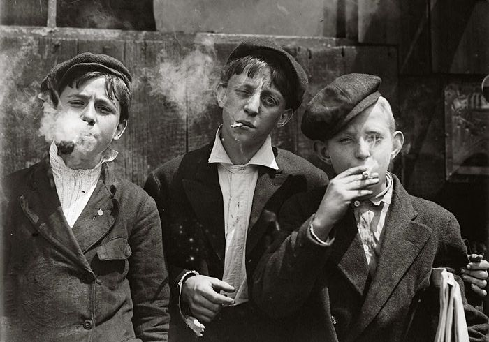 Child laborers in 1880