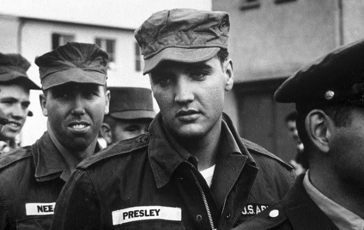 Elvis in the US Army, 1958