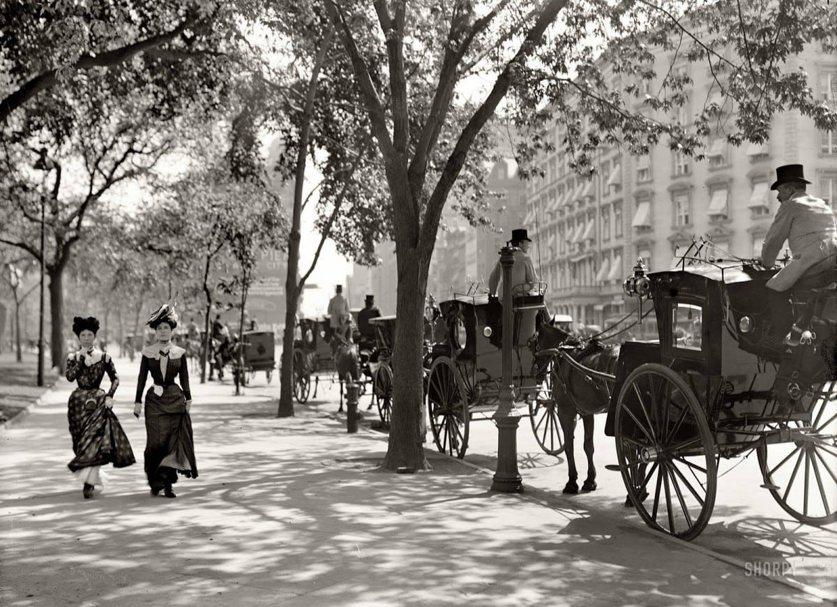 New York in the year 1900