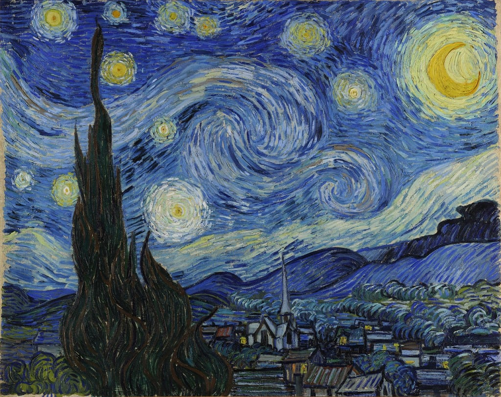 Starry-Night-Famous-Paintings-in-the-World
