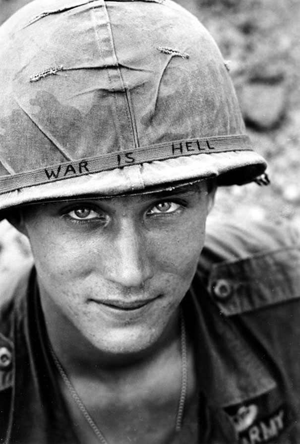 Unknown soldier in Vietnam, 1965