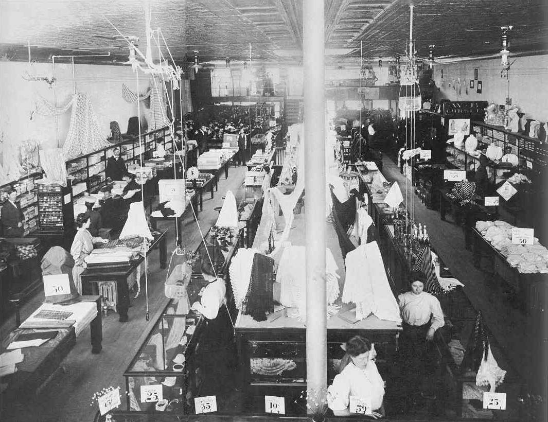 Wrights Department Store - Grand Junction, Colorado, in the year 1900
