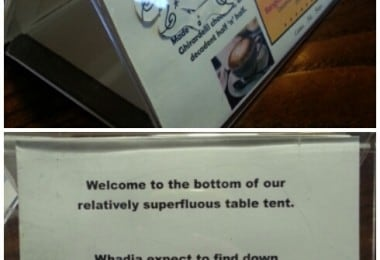 25 Hilarious Things Found At Local Coffee Shops 11