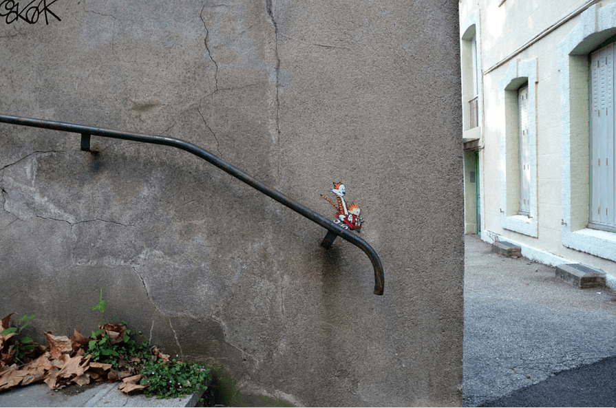 25 Pieces Of Street Art That Use Their Surroundings Perfectly -
