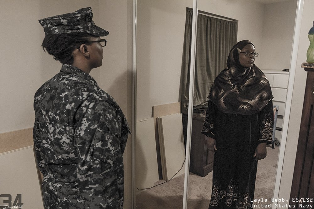 Powerful Photos Reveal the Diversity of the Humans Beneath the Uniform -project, faces