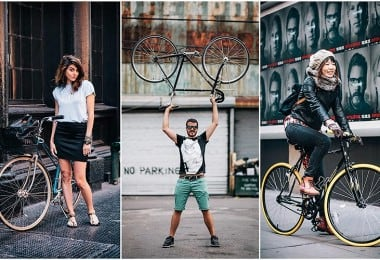 Stylish Portraits of NYC Cyclists With Their Bikes 57