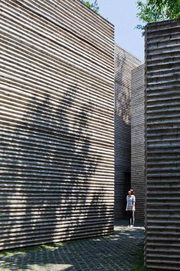 Trees Grow On Rooftops Of Vietnam House By Vo Trong Nghia Architects -vietnam, trees, house