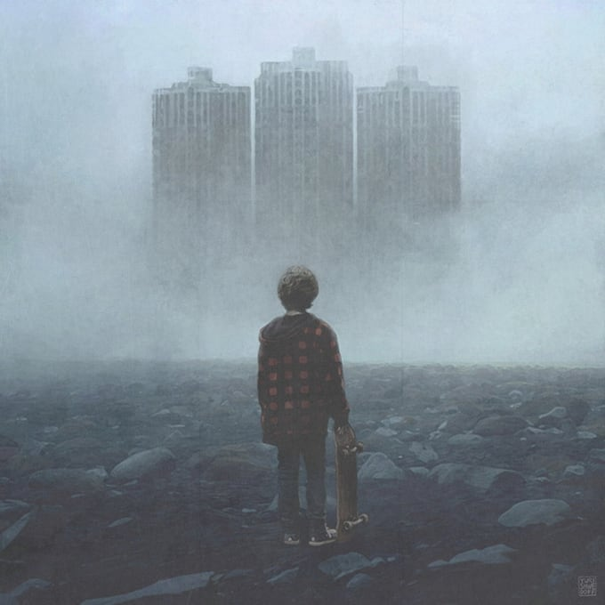 Post-Apocalyptical Illustrations by Yuri Shwedoff -movies