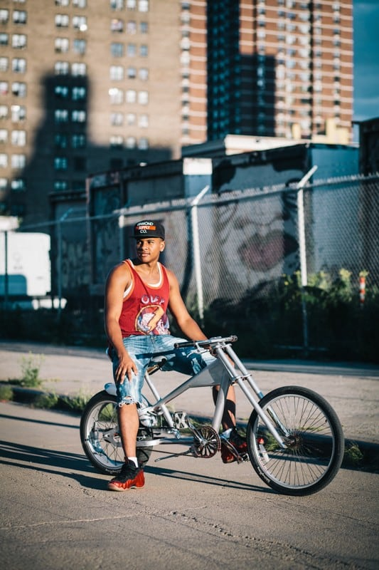 bikers03 - Stylish Portraits of NYC Cyclists With Their Bikes