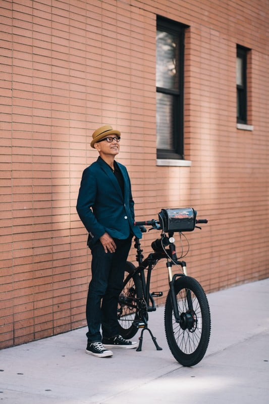 bikers06 - Stylish Portraits of NYC Cyclists With Their Bikes