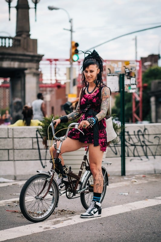 bikers10 - Stylish Portraits of NYC Cyclists With Their Bikes