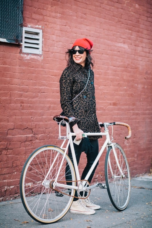 bikers11 - Stylish Portraits of NYC Cyclists With Their Bikes