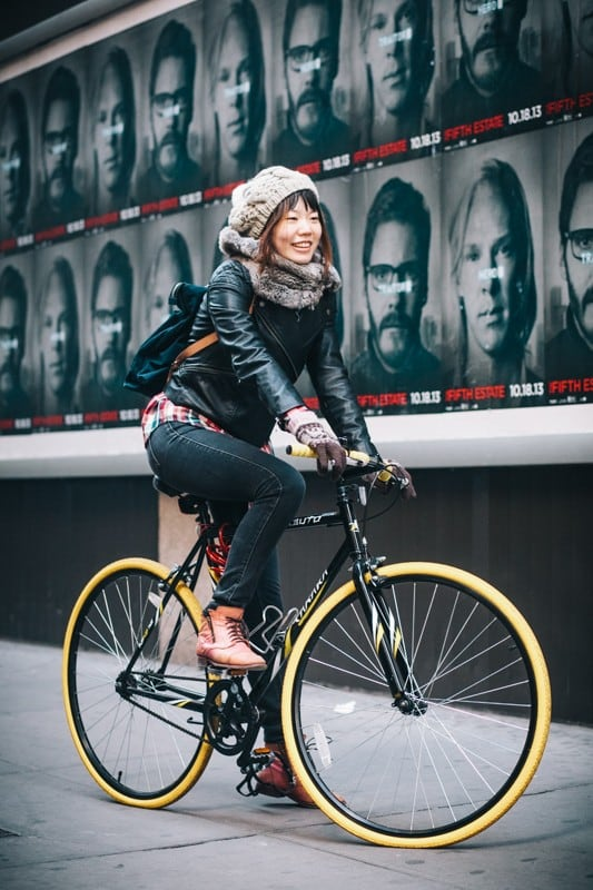 bikers12 - Stylish Portraits of NYC Cyclists With Their Bikes