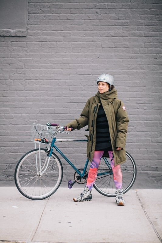 bikers13 - Stylish Portraits of NYC Cyclists With Their Bikes