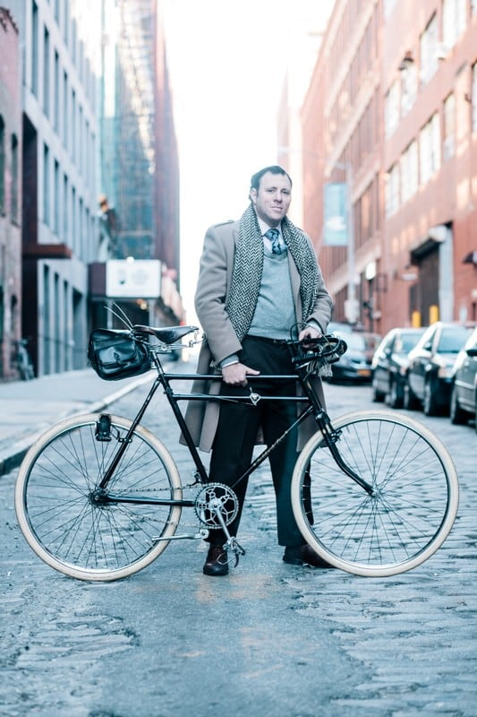 bikers14 - Stylish Portraits of NYC Cyclists With Their Bikes