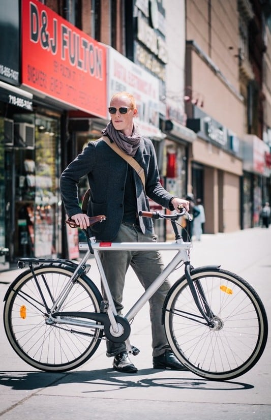 bikers15 - Stylish Portraits of NYC Cyclists With Their Bikes