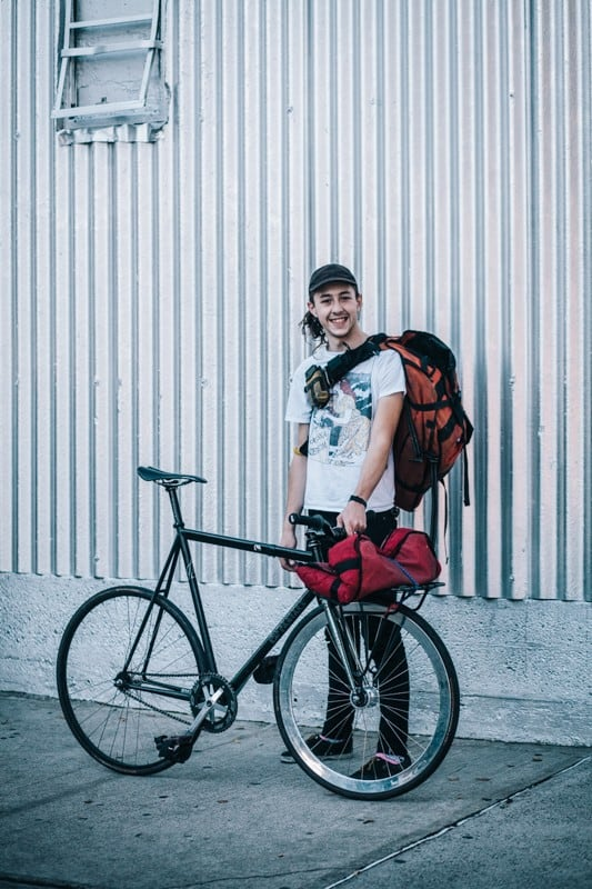 bikers16 - Stylish Portraits of NYC Cyclists With Their Bikes