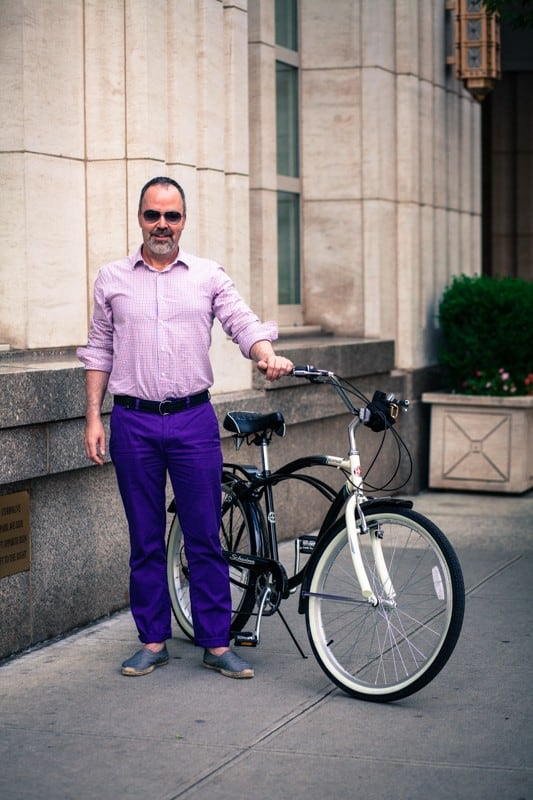 bikers17 - Stylish Portraits of NYC Cyclists With Their Bikes