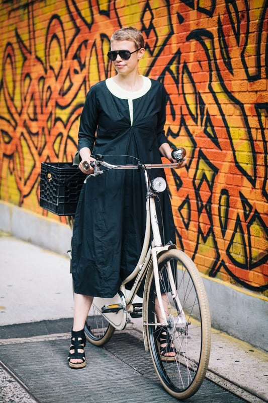 bikers22 - Stylish Portraits of NYC Cyclists With Their Bikes
