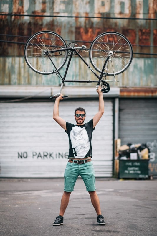 bikers24 - Stylish Portraits of NYC Cyclists With Their Bikes