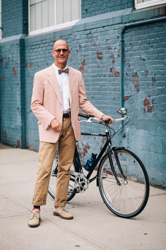 bikers25 - Stylish Portraits of NYC Cyclists With Their Bikes
