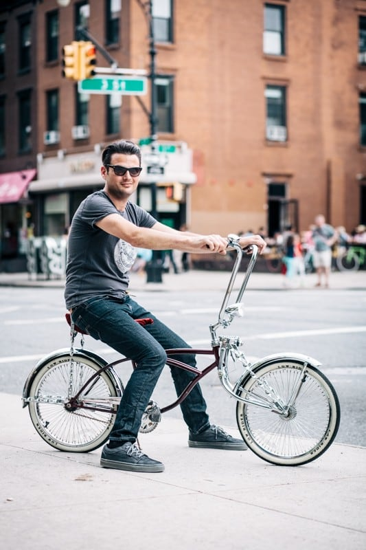 bikers26 - Stylish Portraits of NYC Cyclists With Their Bikes