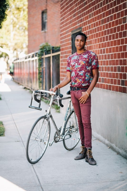 bikers27 - Stylish Portraits of NYC Cyclists With Their Bikes