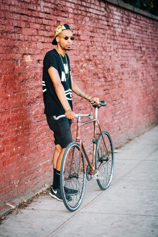 bikers29 - Stylish Portraits of NYC Cyclists With Their Bikes