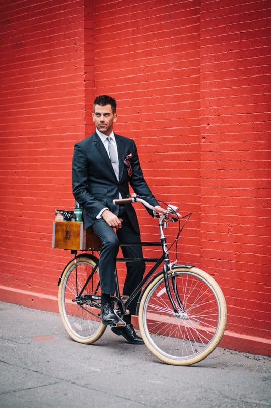 bikers33 - Stylish Portraits of NYC Cyclists With Their Bikes