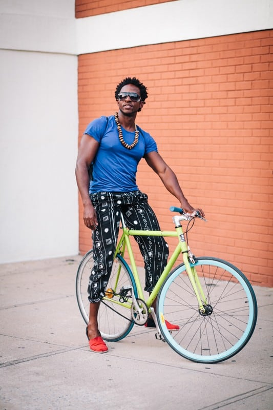 bikers36 - Stylish Portraits of NYC Cyclists With Their Bikes