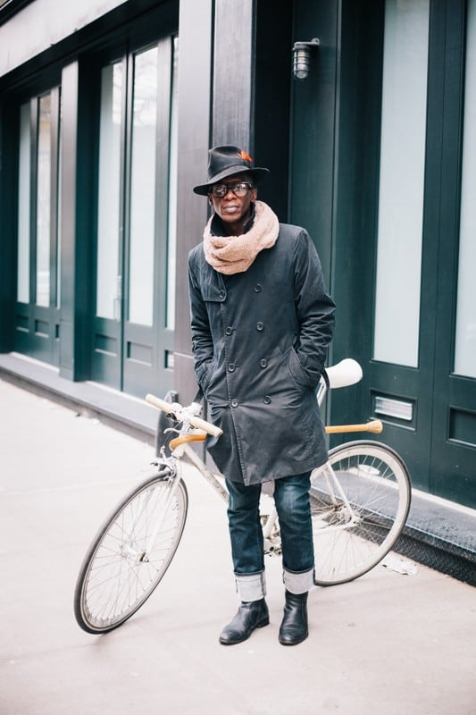 bikers37 - Stylish Portraits of NYC Cyclists With Their Bikes
