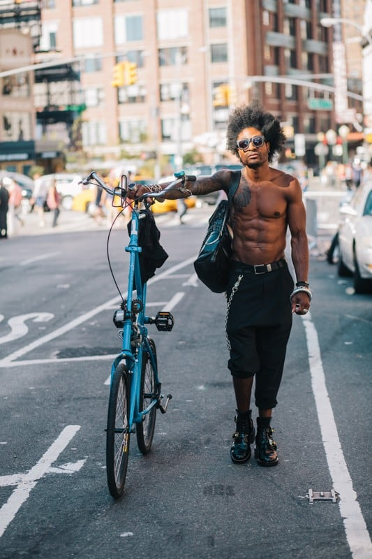 bikers42 - Stylish Portraits of NYC Cyclists With Their Bikes