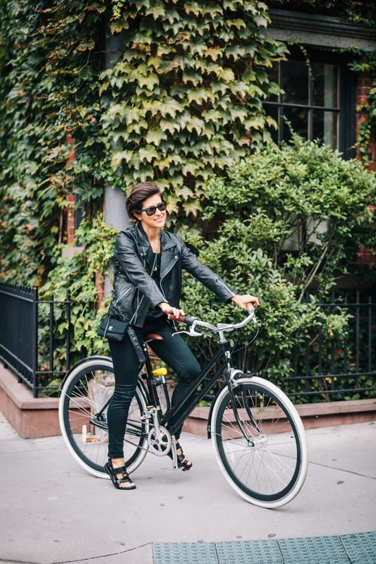 bikers45 - Stylish Portraits of NYC Cyclists With Their Bikes