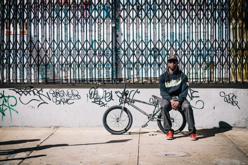 bikers46 - Stylish Portraits of NYC Cyclists With Their Bikes
